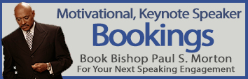 Bishop Paul Morton Bookings